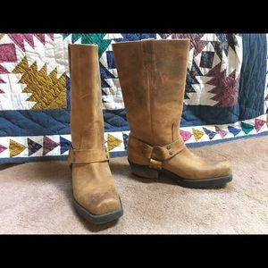 Biker/western style boots